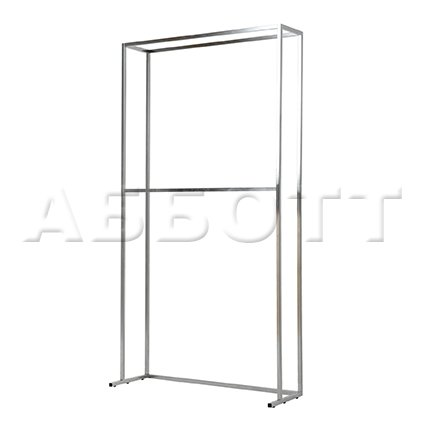 Two level wall rack
