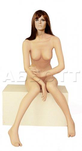 Манекен женский (сидячий)