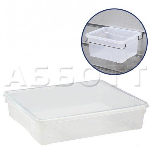 Короб пластиковый универсальный, прозрачный