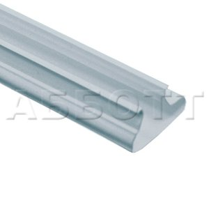 Snap-in plastic insert in 12 colors 1200mm