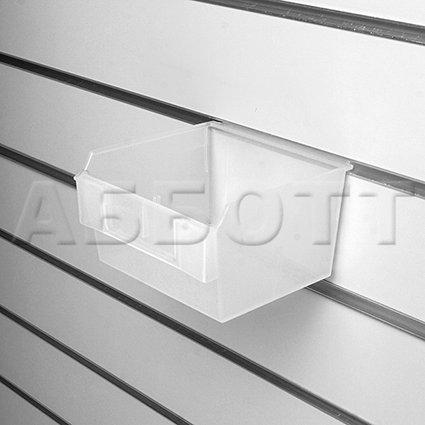 Короб пластиковый прозрачный (c местом для ценника)