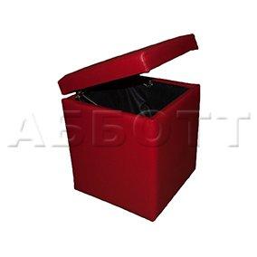 Банкетка куб с откидной крышкой