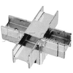 Соединитель для 5-ти квадратных труб 25х25мм