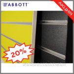 Компания АББОТТ продолжает акцию на Экономпанели нестандартных цветов и размеров
