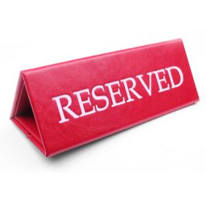 Правила резервирования товара